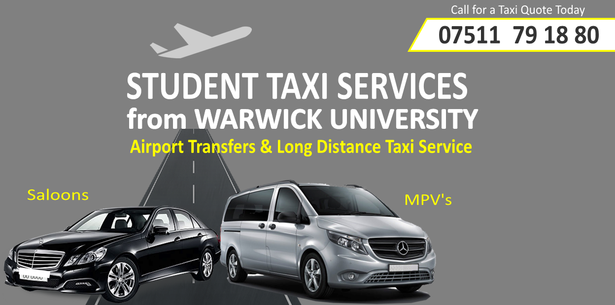Leamington Spa Airport taxis & transfers
