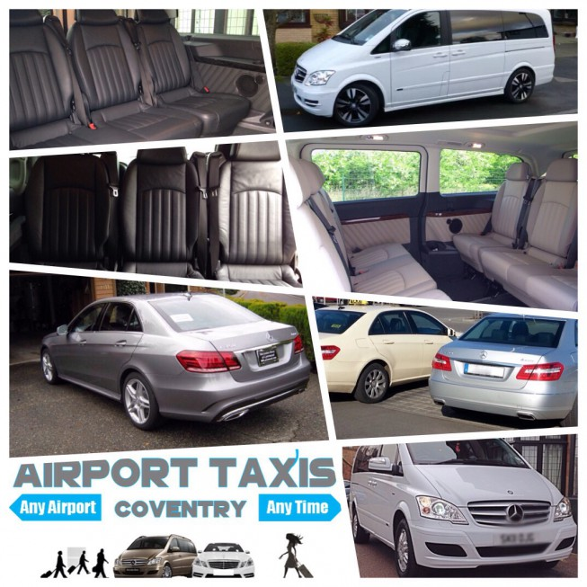 Coventry to Birmingham Airport Taxi