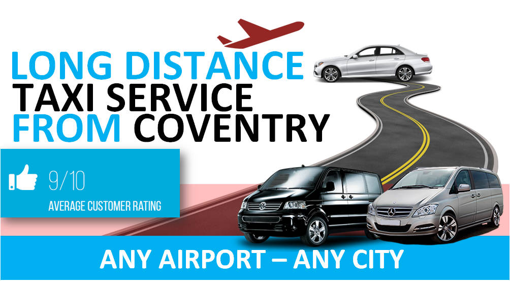Taxi from Coventry to Luton Airport